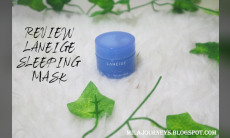 REVIEW LANEIGE SLEEPING MASK